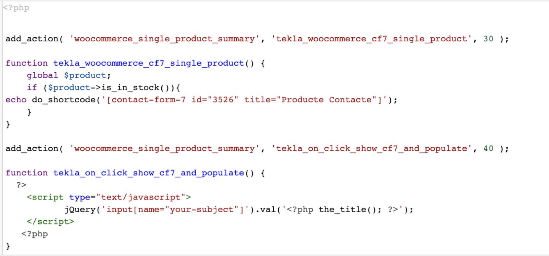 Código Wordpress con el uso de Snippets